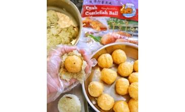 Pandan Rice Otah Cuttlefish Ball
